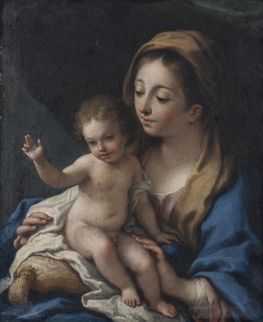 Школа Антонио Алегри да Кореджо (1489 – 1534), Италия <br> Mадона с младенеца