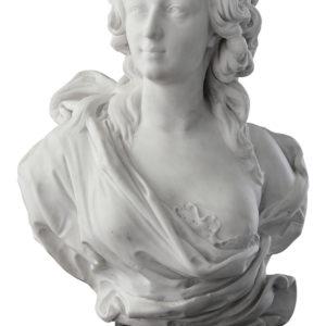 Jean-Jacques Caffieri (1725–1792), France <br> Jeanne Bécu, comtesse du Barry, 1770s