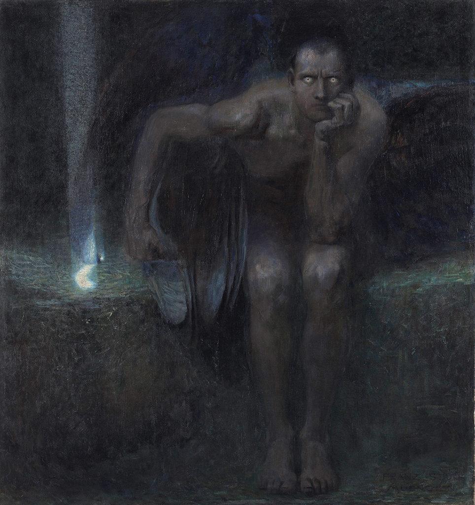 Франц фон Щук (1863 – 1928), Германия <br> Луцифер, 1891